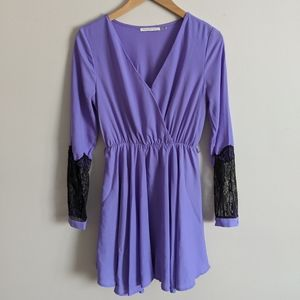 Mustard Seed Lavender Dress, Size Small